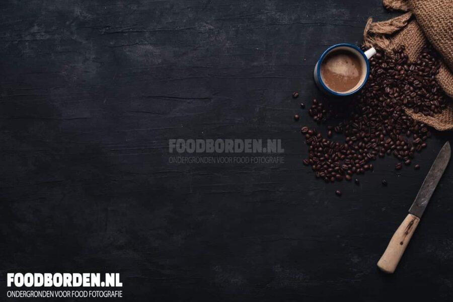 backdrop antraciet zwart food fotografie