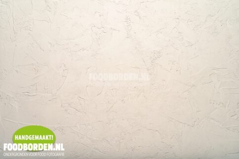 Handmade surface for Food Photography Cream White Plaster